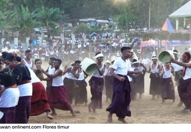 Sadok Nonga, Tinju Tradisional Ungkapan Syukuran Panen Desa Bentala