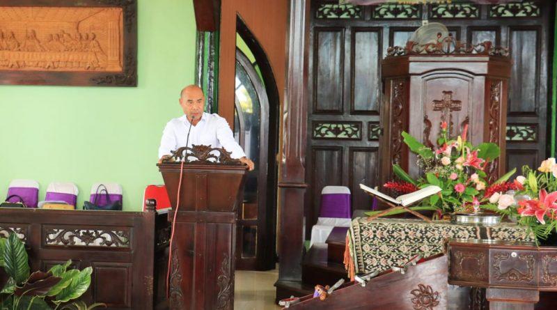 Gubernur NTT Mengharapkan Gereja Harus Mampu Berkolaborasi Secara Baik